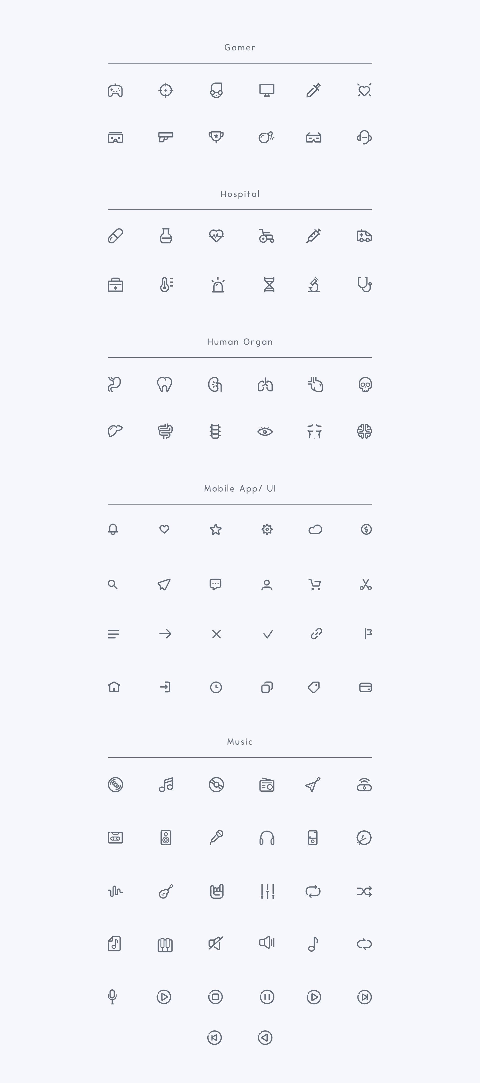 UICON - 280 Icons Bundle Pro Pack example image 4