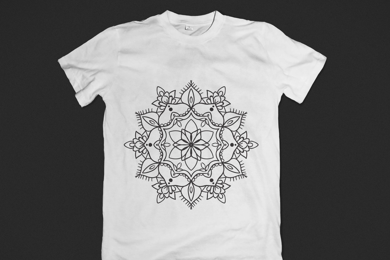 Handmade Floral Mandala Set of 25 example image 2