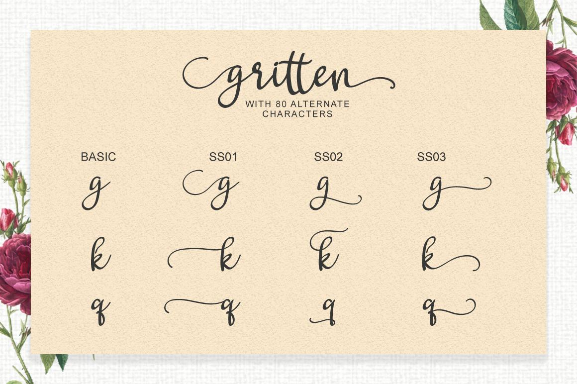 Gritten - Script example image 2