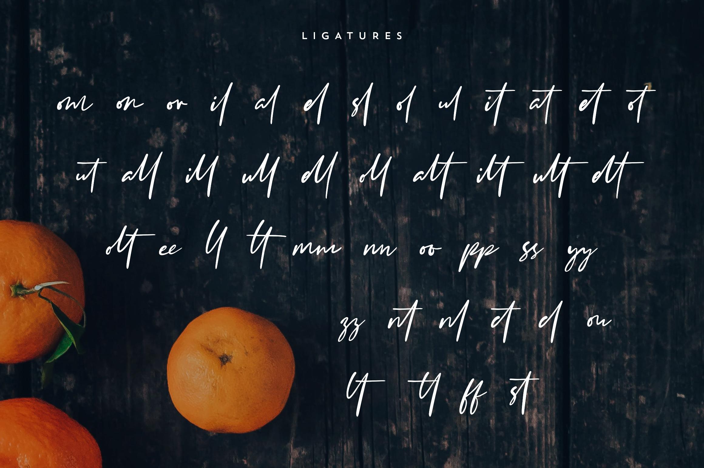 Clementine Script example image 8