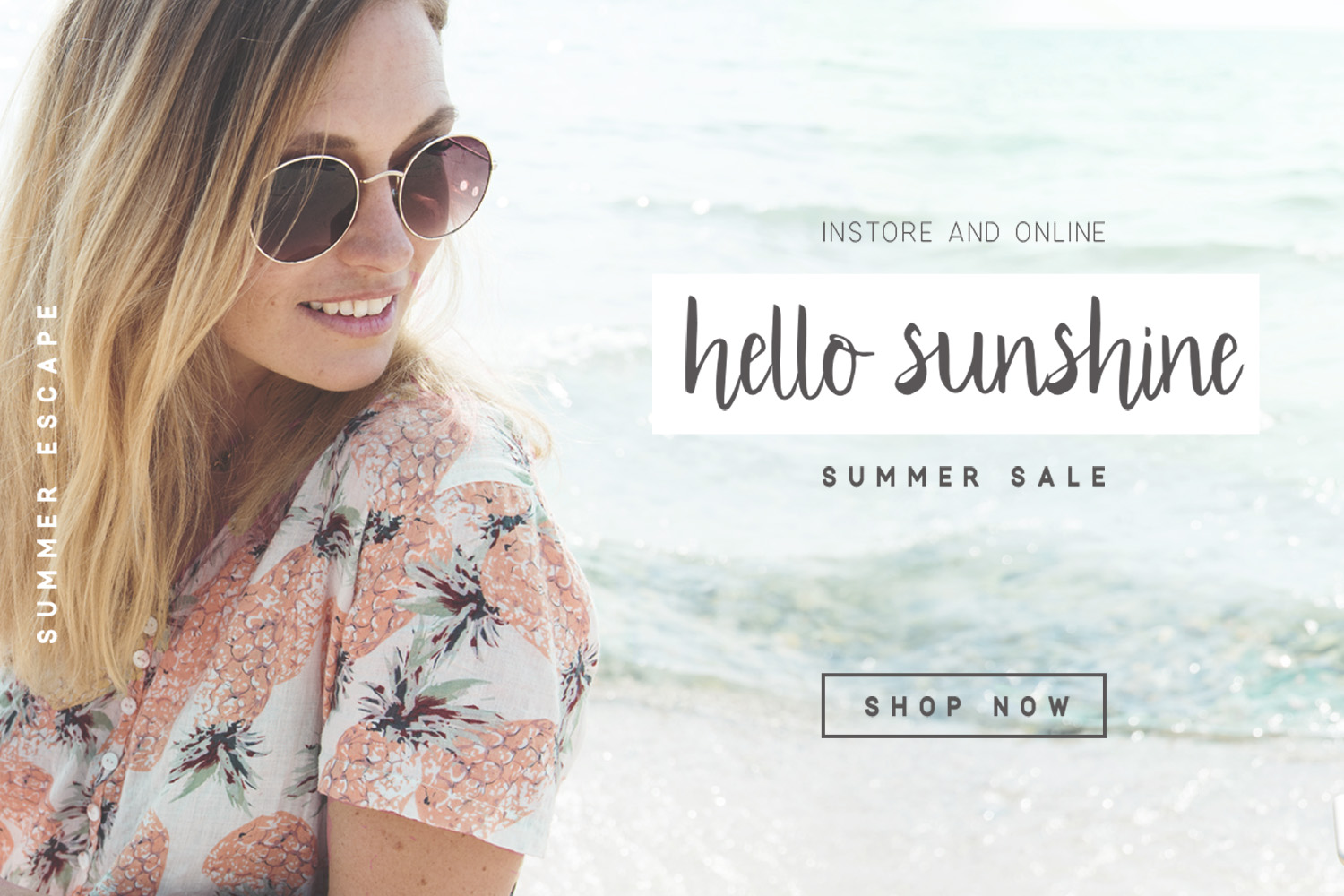 Summer Escape Font Duo example image 3
