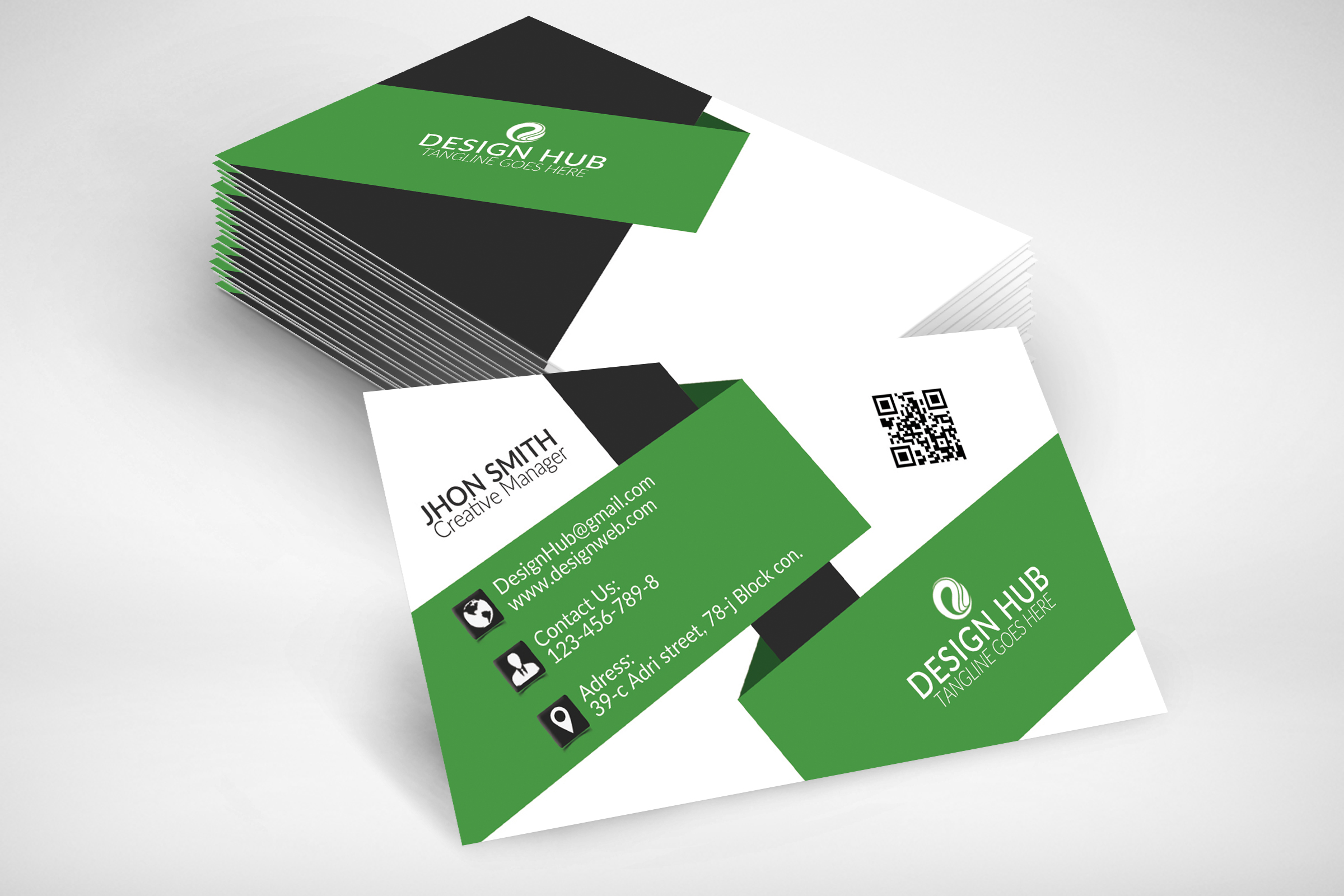 Business Card Design example image 2
