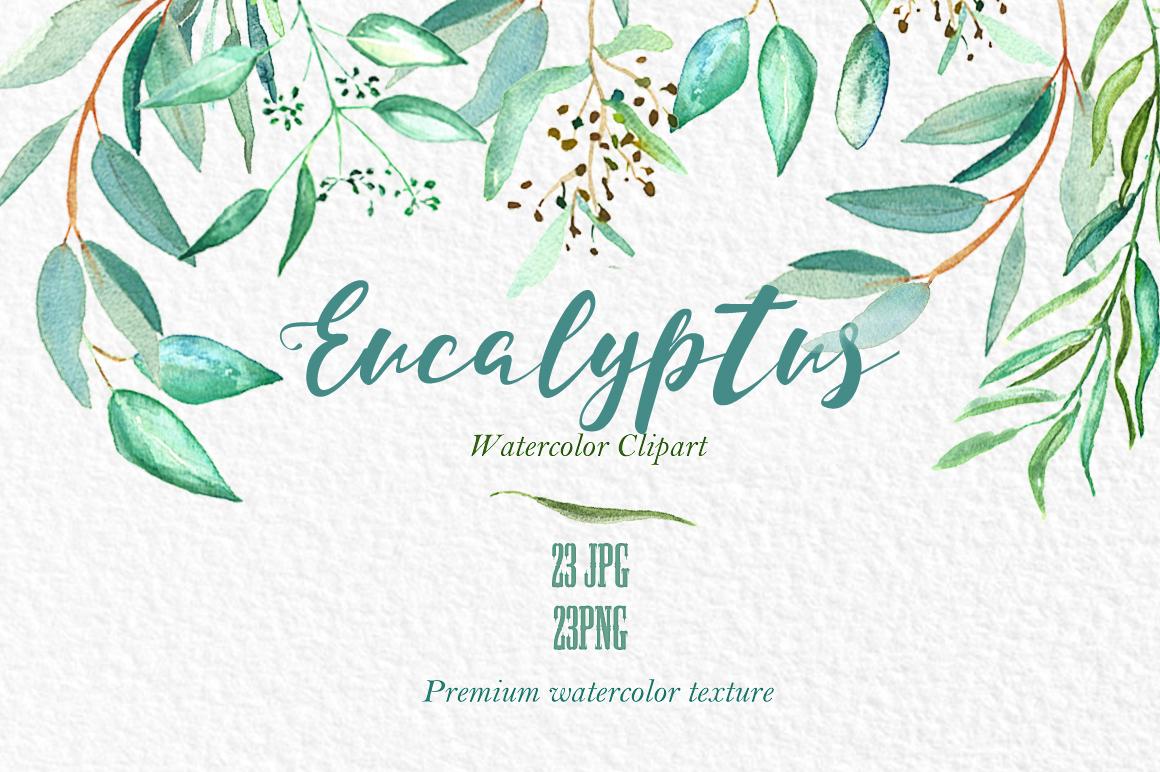 Eucalyptus Embroidery Hoop Wreath