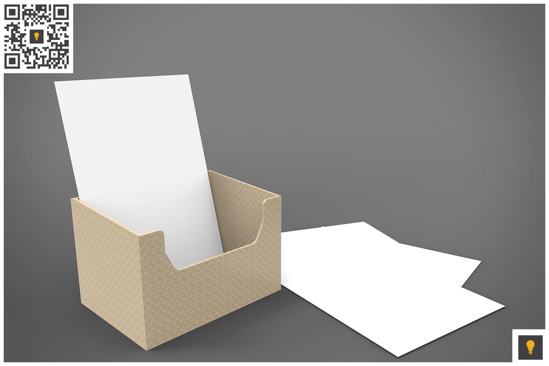 Flyer Holder 3D Render example image 4