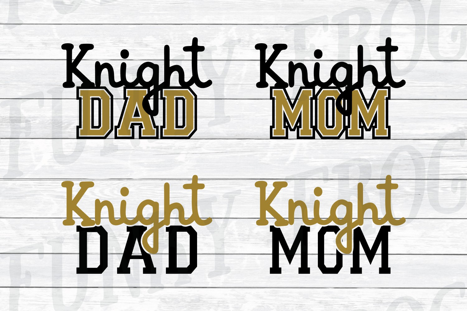 Florida Universities Mom and Dad SVG Cut File Bundle for Cra example image 6
