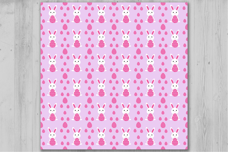 Easter Bunny Digital Paper Easter Digital Papers Easter Eggs