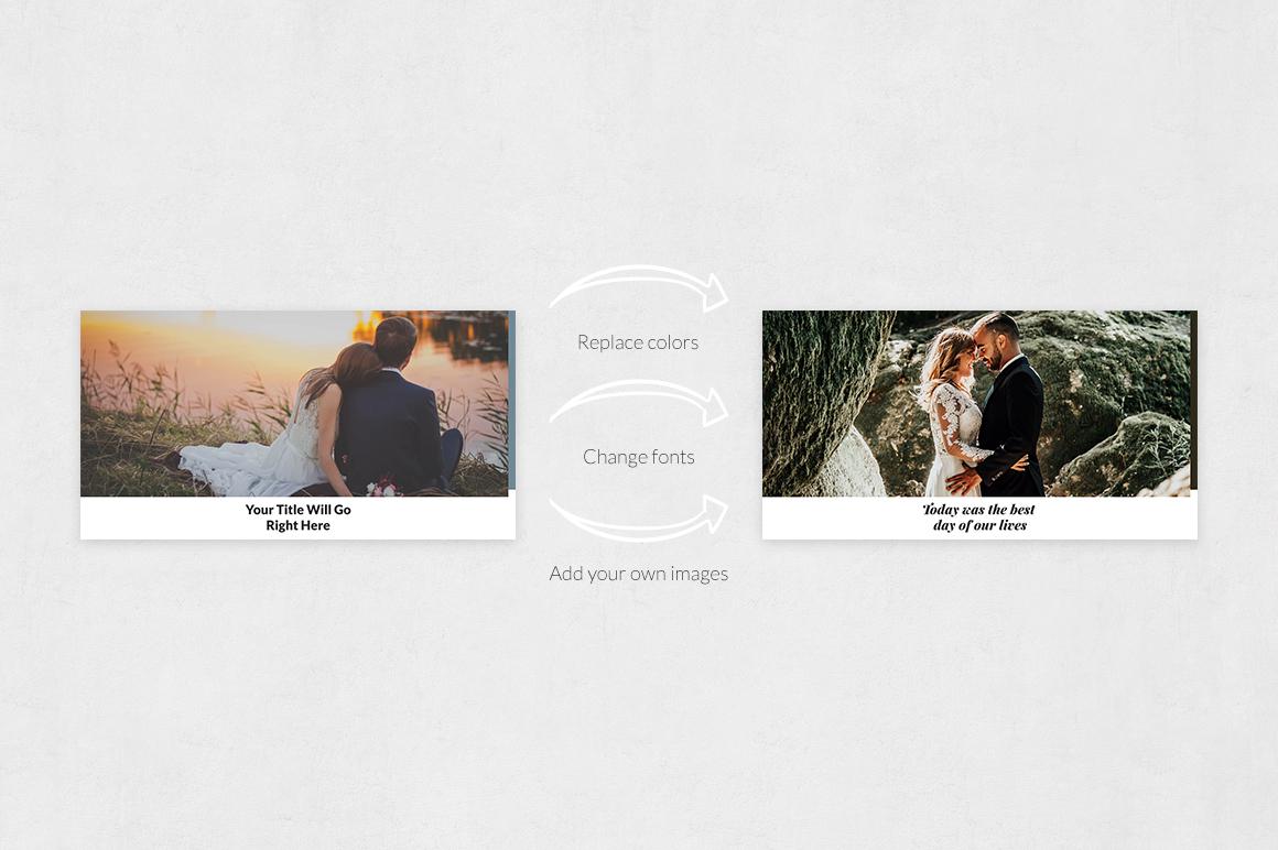Wedding Facebook Posts example image 5