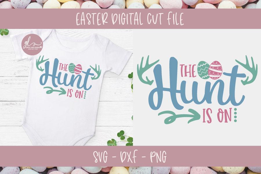 Easter Bundle Vol. 2 - 10 Easter Designs - SVG, DXF & PNG example image 9
