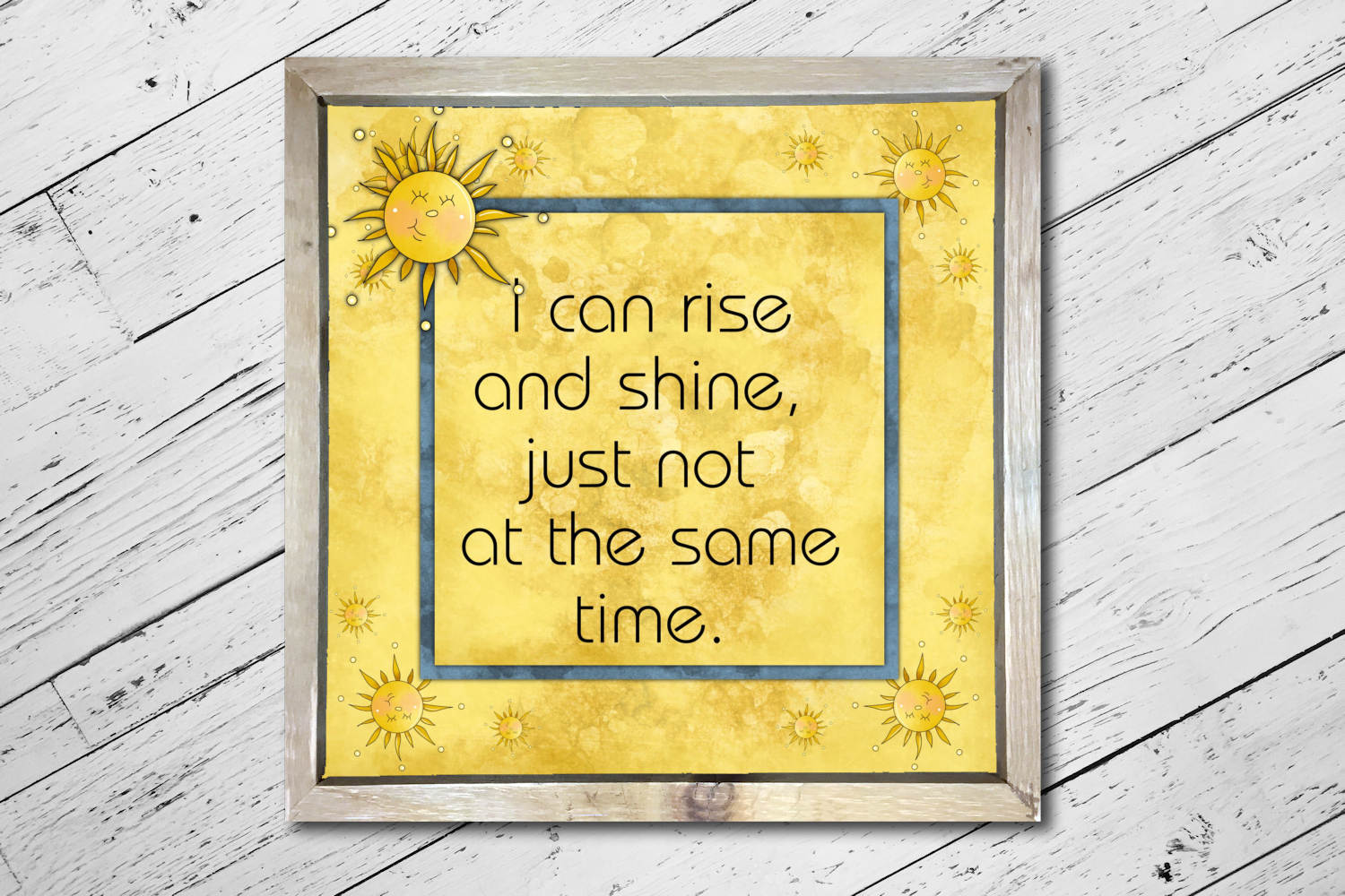 Rise and Shine Square Print example image 3