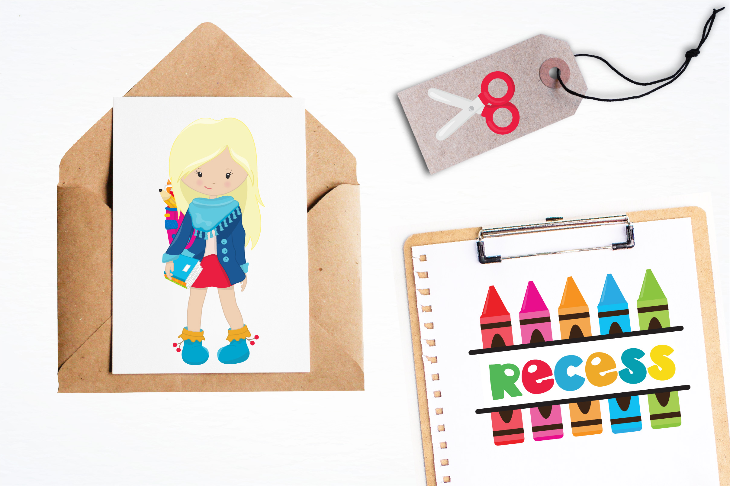 Back to school graphics and illustrations example image 4