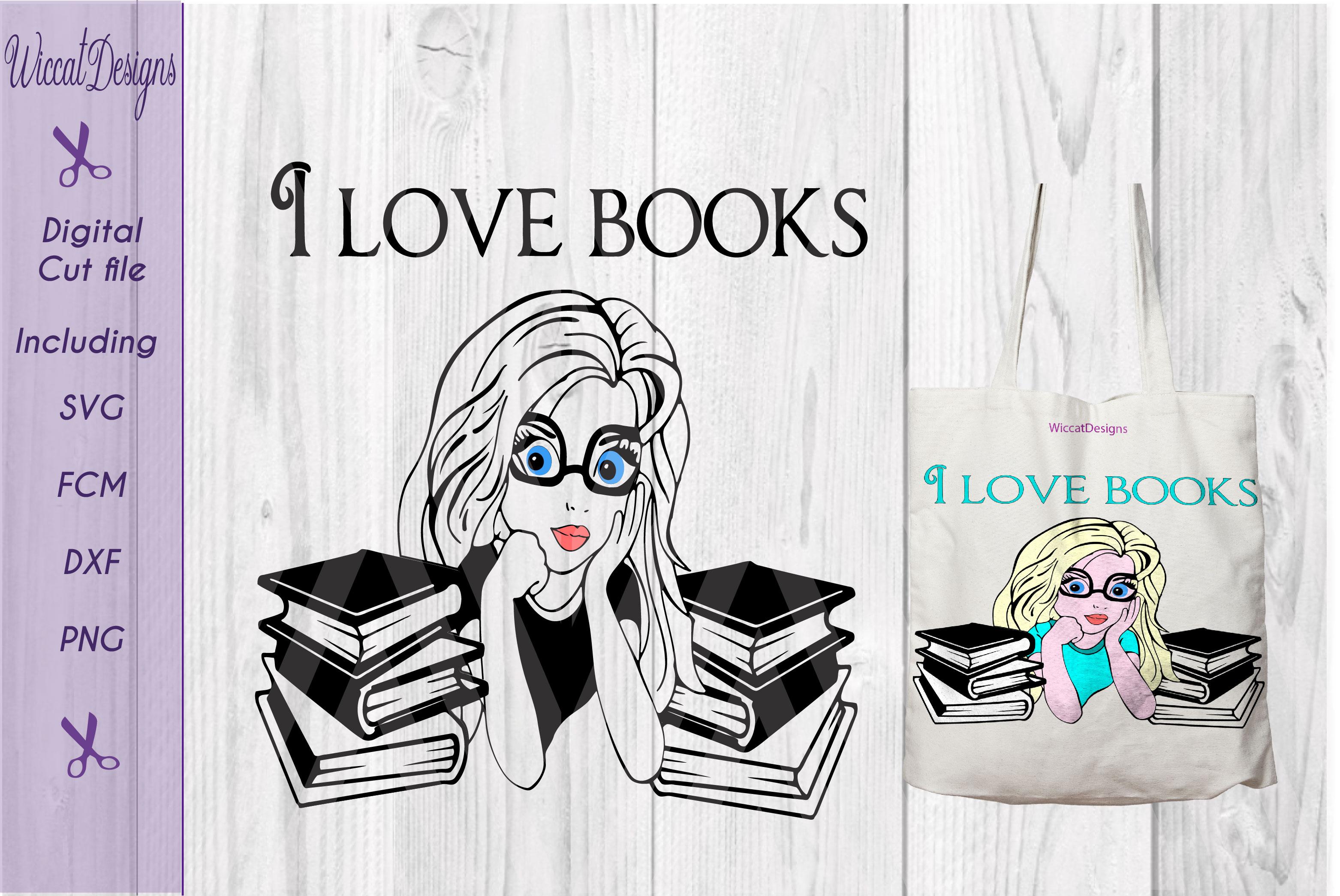 Bookworm svg, librarian character, cartoon cut files