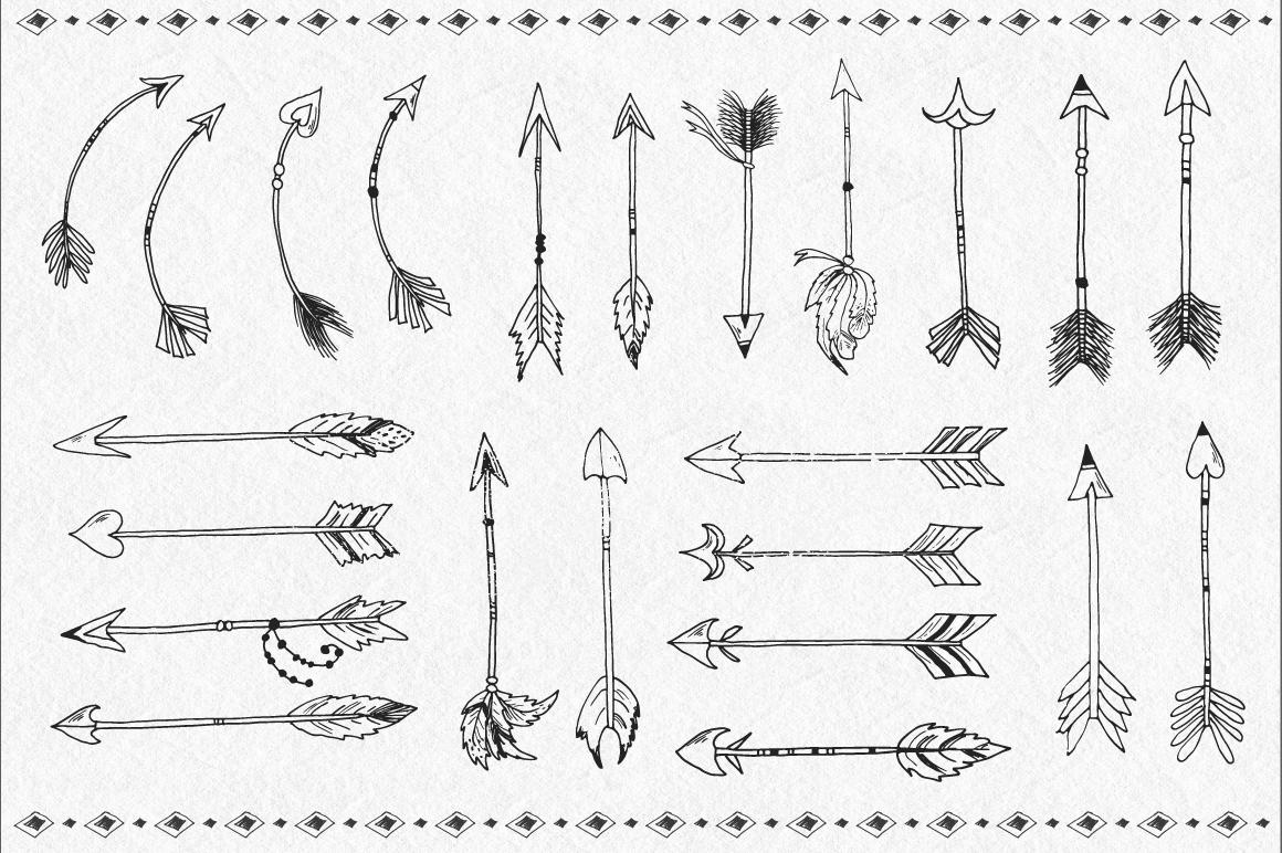 Tribal Design Vector Set Vol.2 example image 3