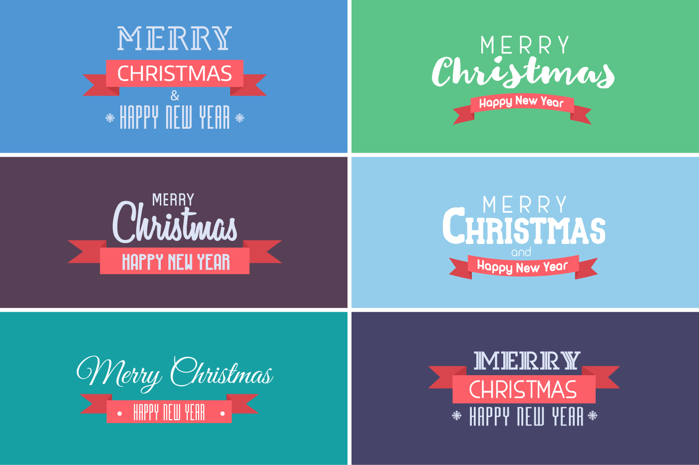 New Year and Christmas Cards with Europe Cities example image 4