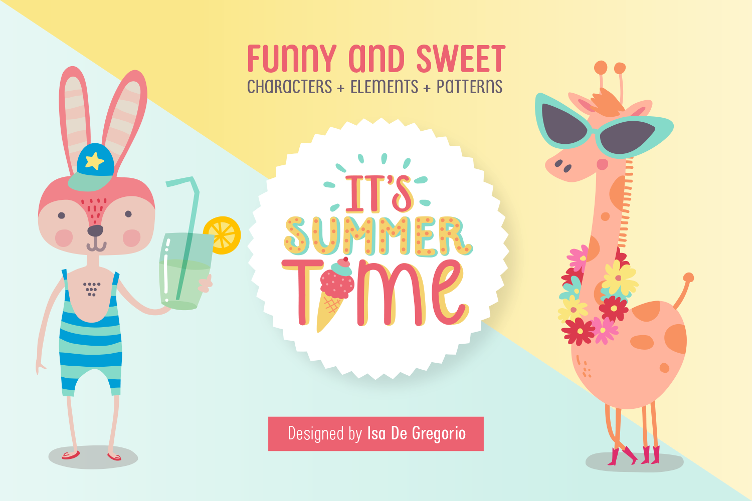 It's Summer time! Sweet animals example image 1
