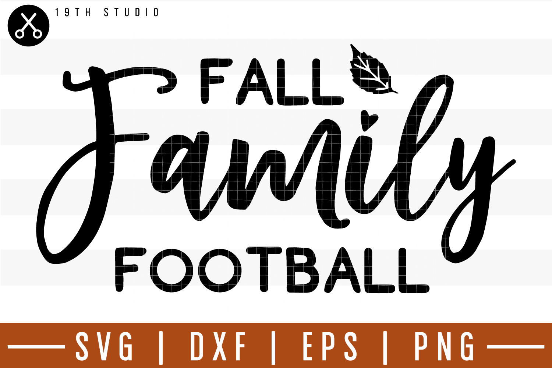 Fall family football SVG| Fall SVG example image 1