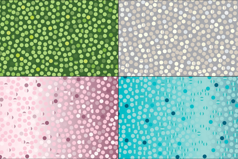 Random Metallic Dot Patterns example image 3