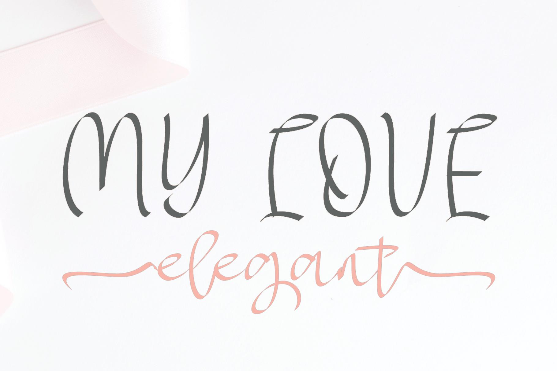 MY LOVE elegant example image 8