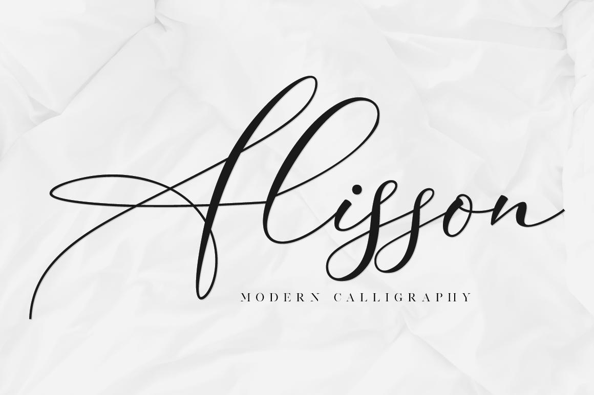 Alisson Script example image 1