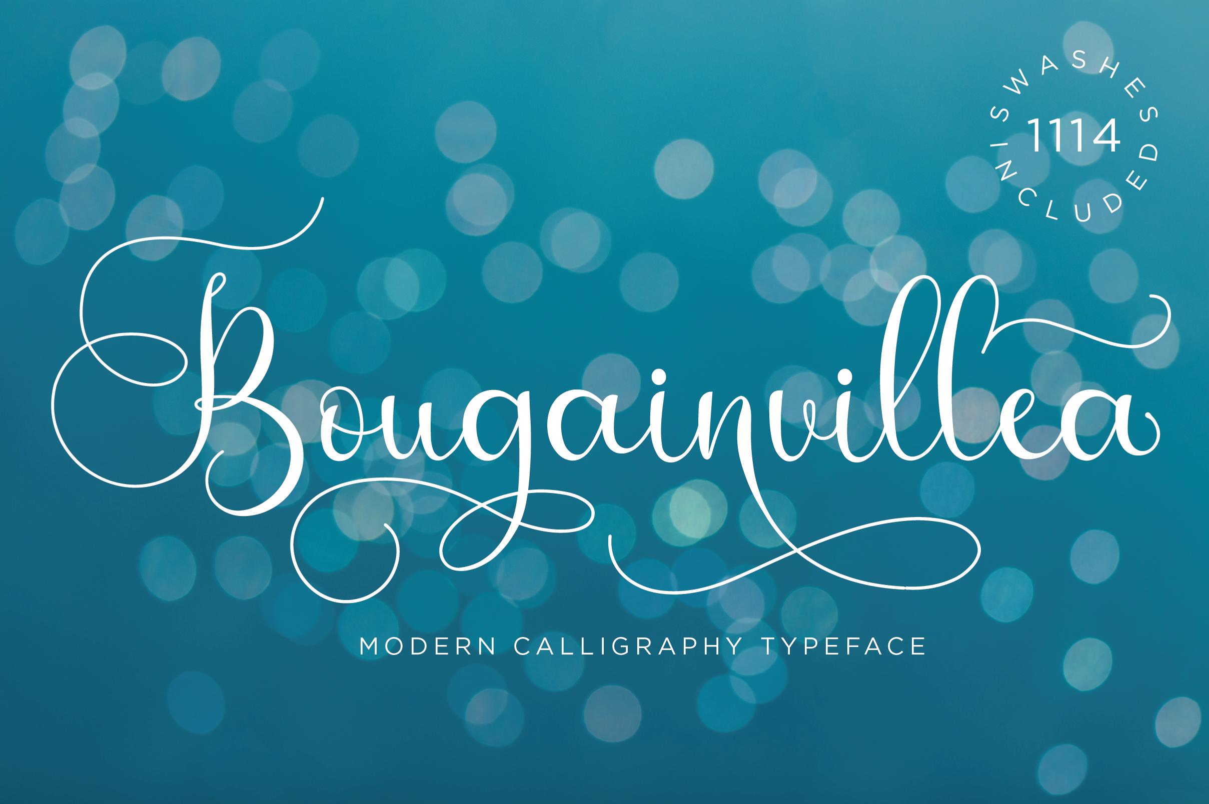 Bougainvillea Script example image 1