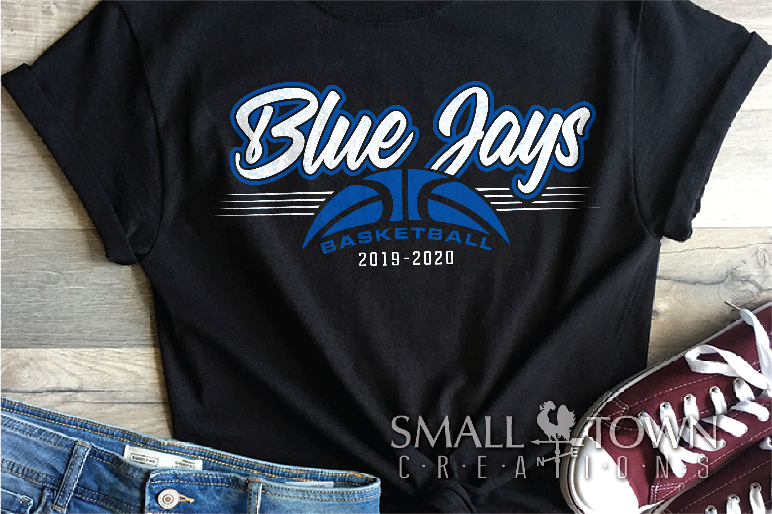 Blue Jay, Basketball, Sport, Design, PRINT, CUT, DESIGN example image 1