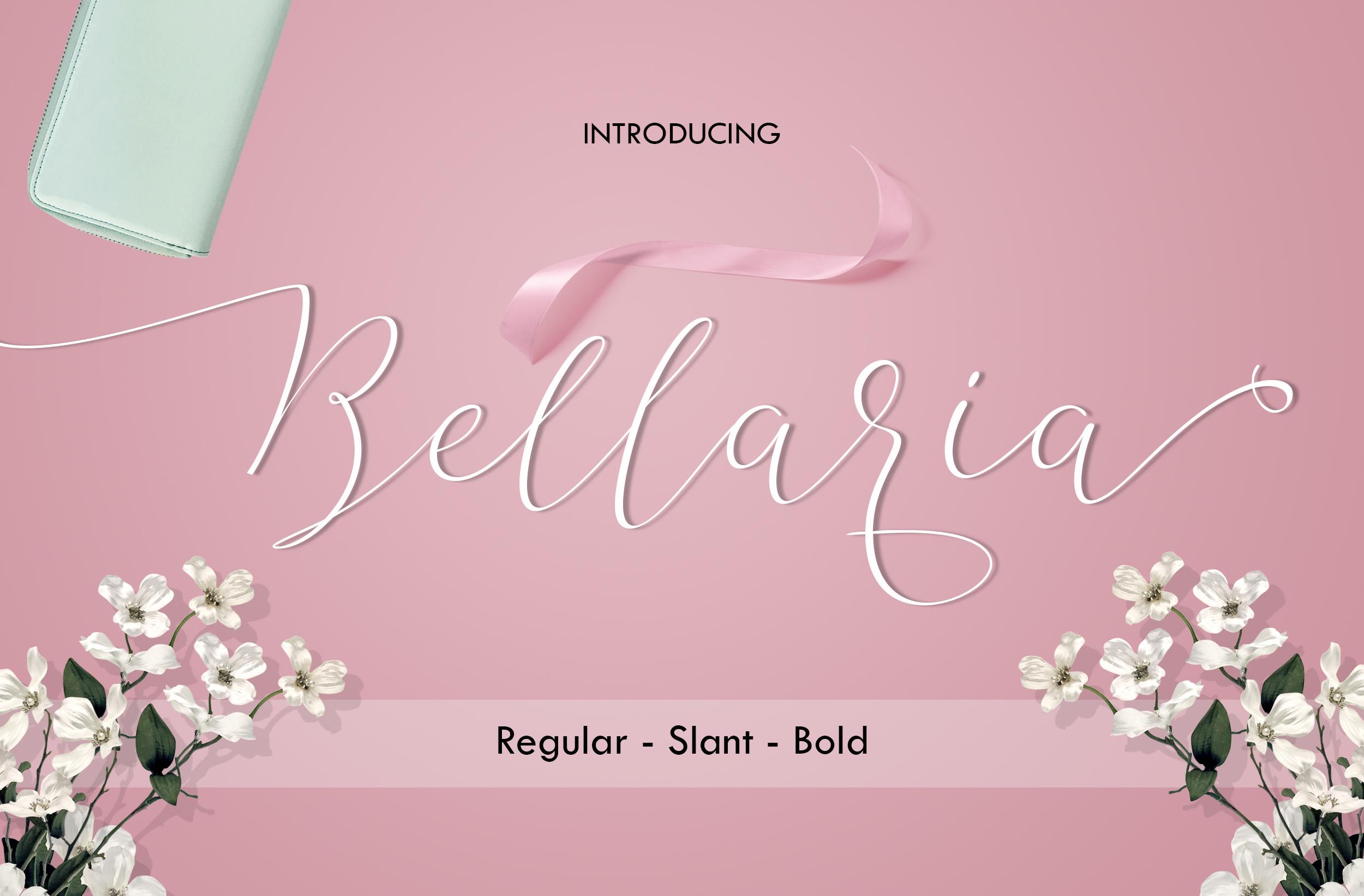 The Bellaria Script Discount 50  example image 2