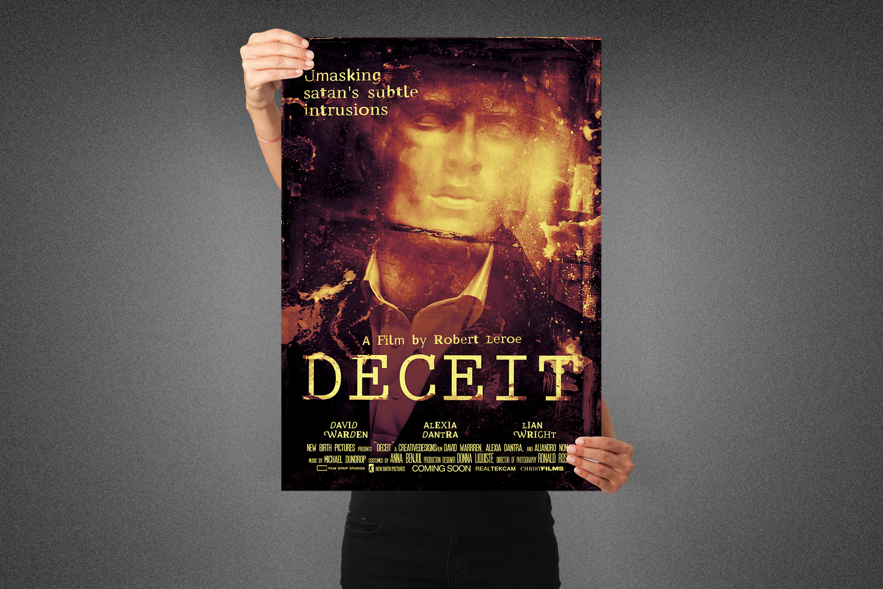 Deceit Movie Poster Template example image 5