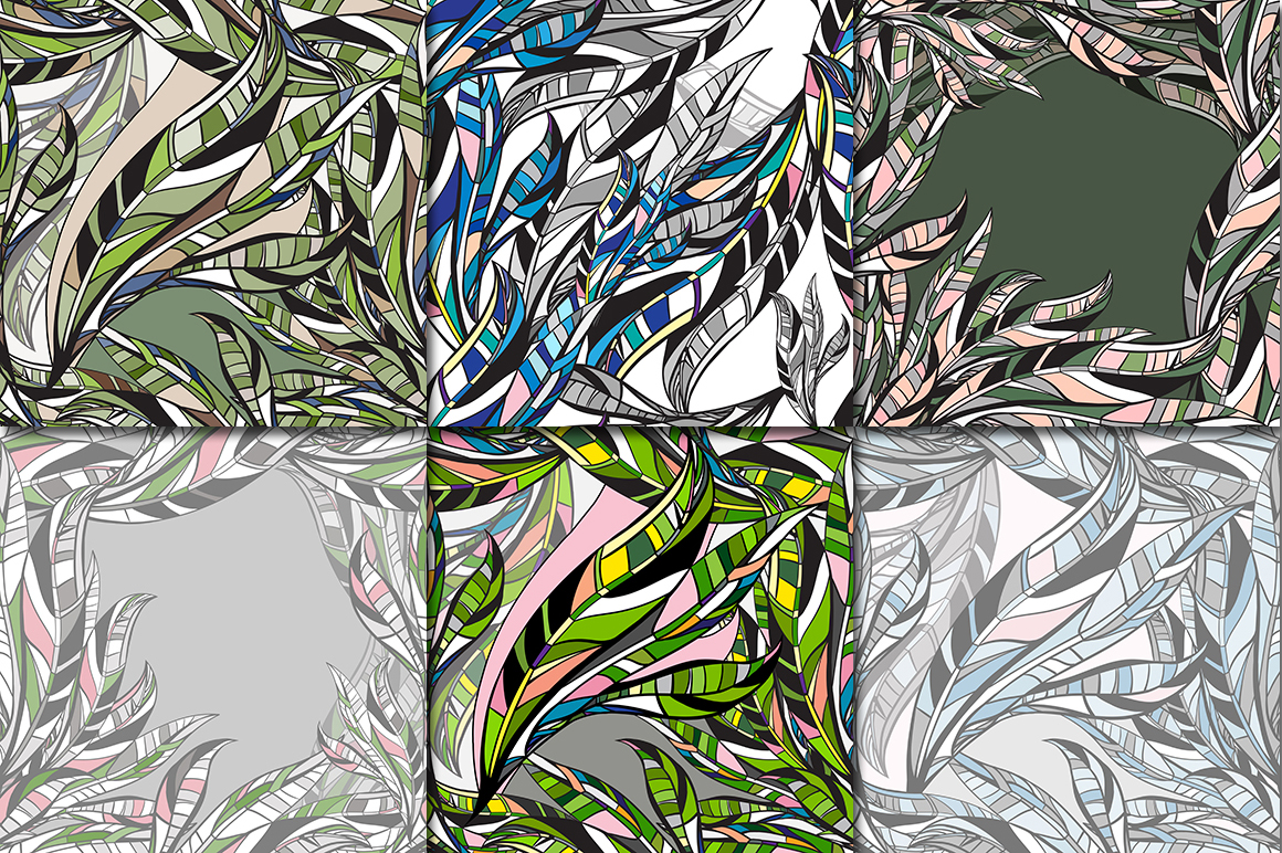 LEAVES vector collection. example image 2