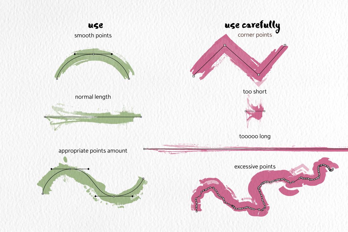 Strike Brushes for Illustrator example image 4