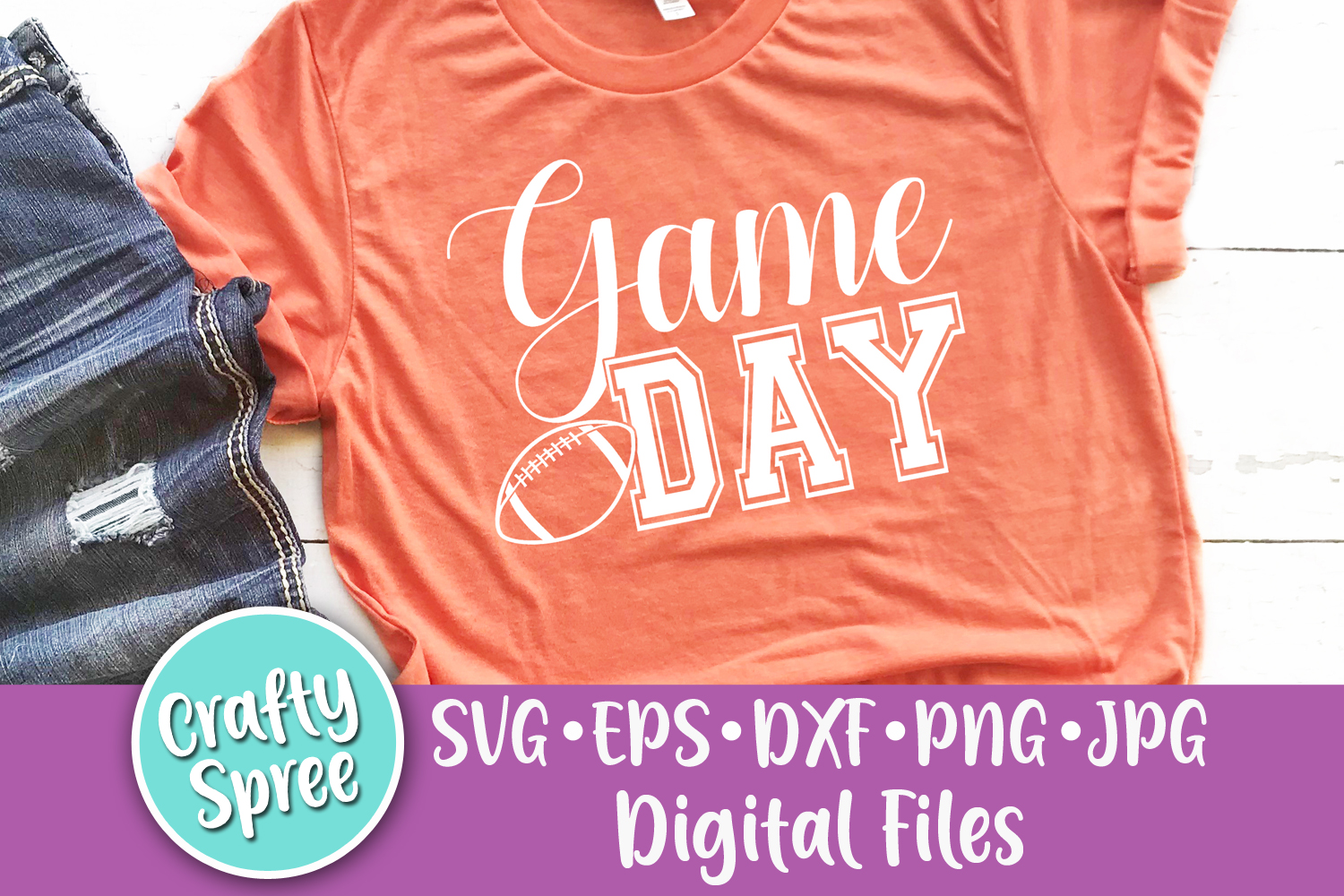 Game Day SVG PNG DXF Cut File example image 1