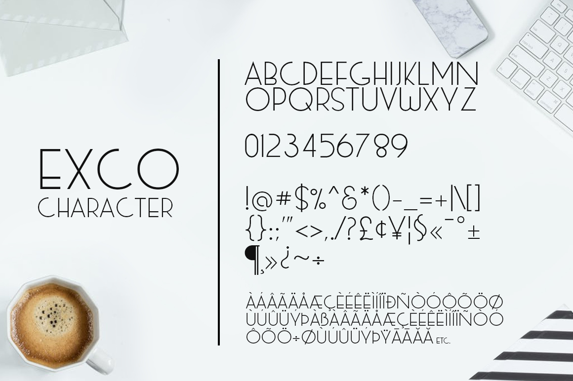 Exco Typeface example image 7