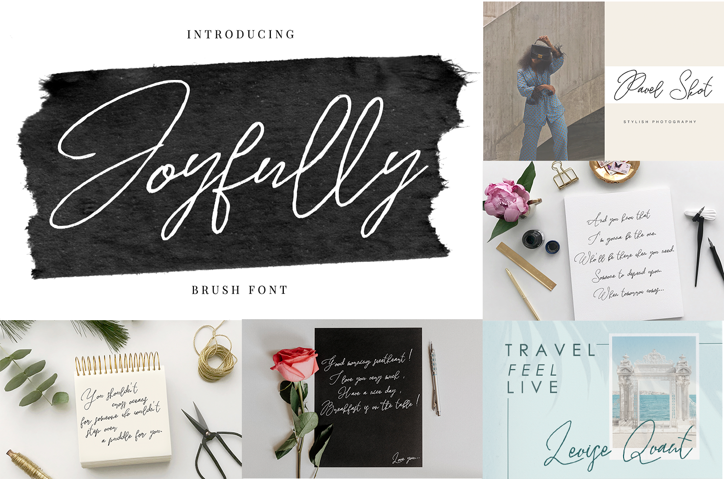Handwritten Font Bundle 5 in 1 example image 6