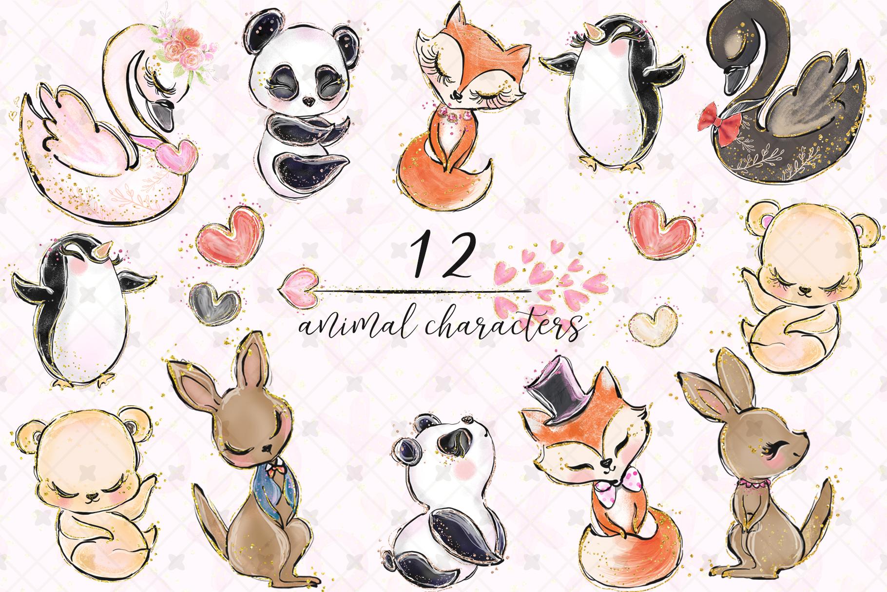 Valentine's clip art example image 2