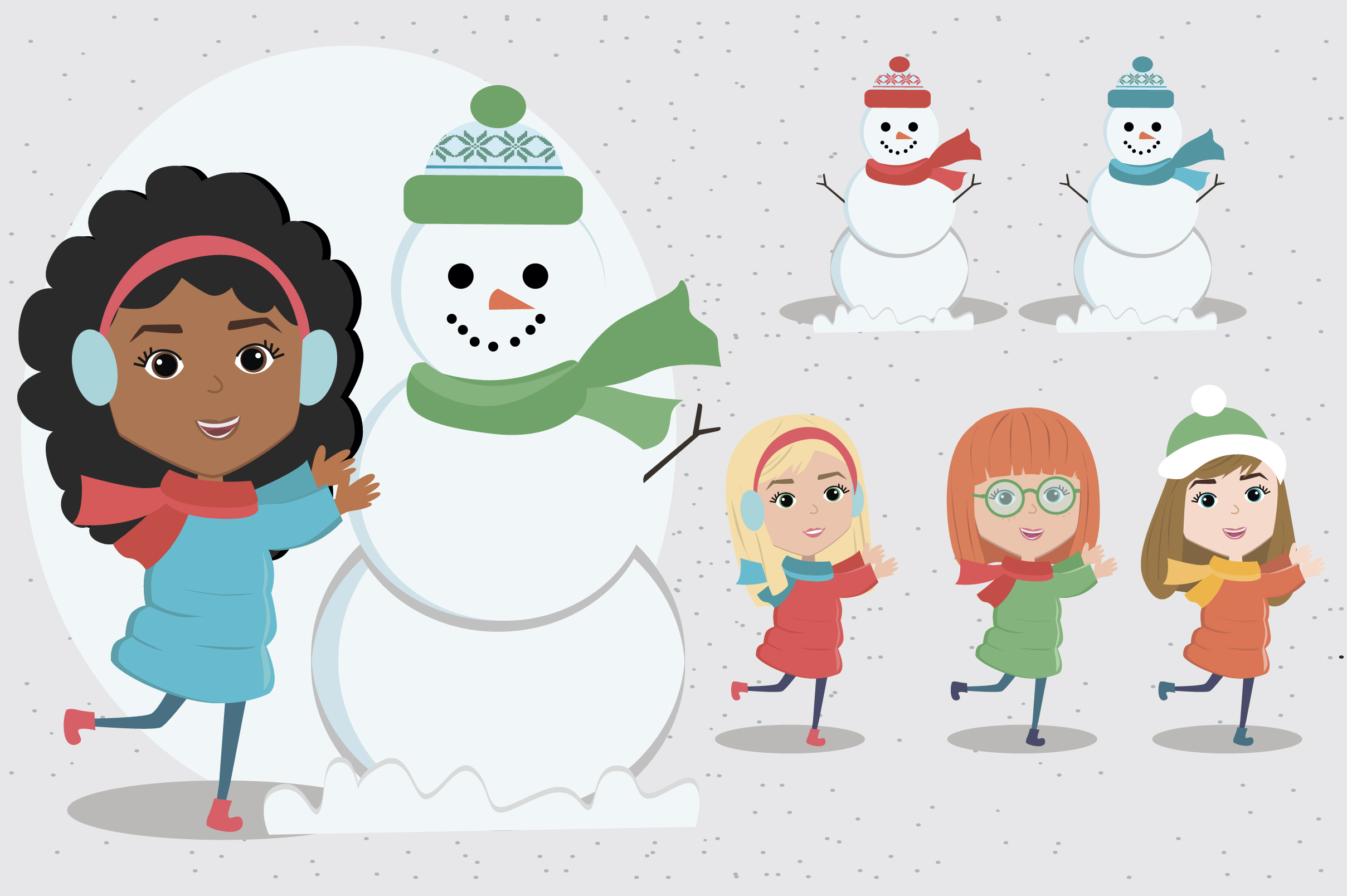 Creator Christmas kids character example image 9