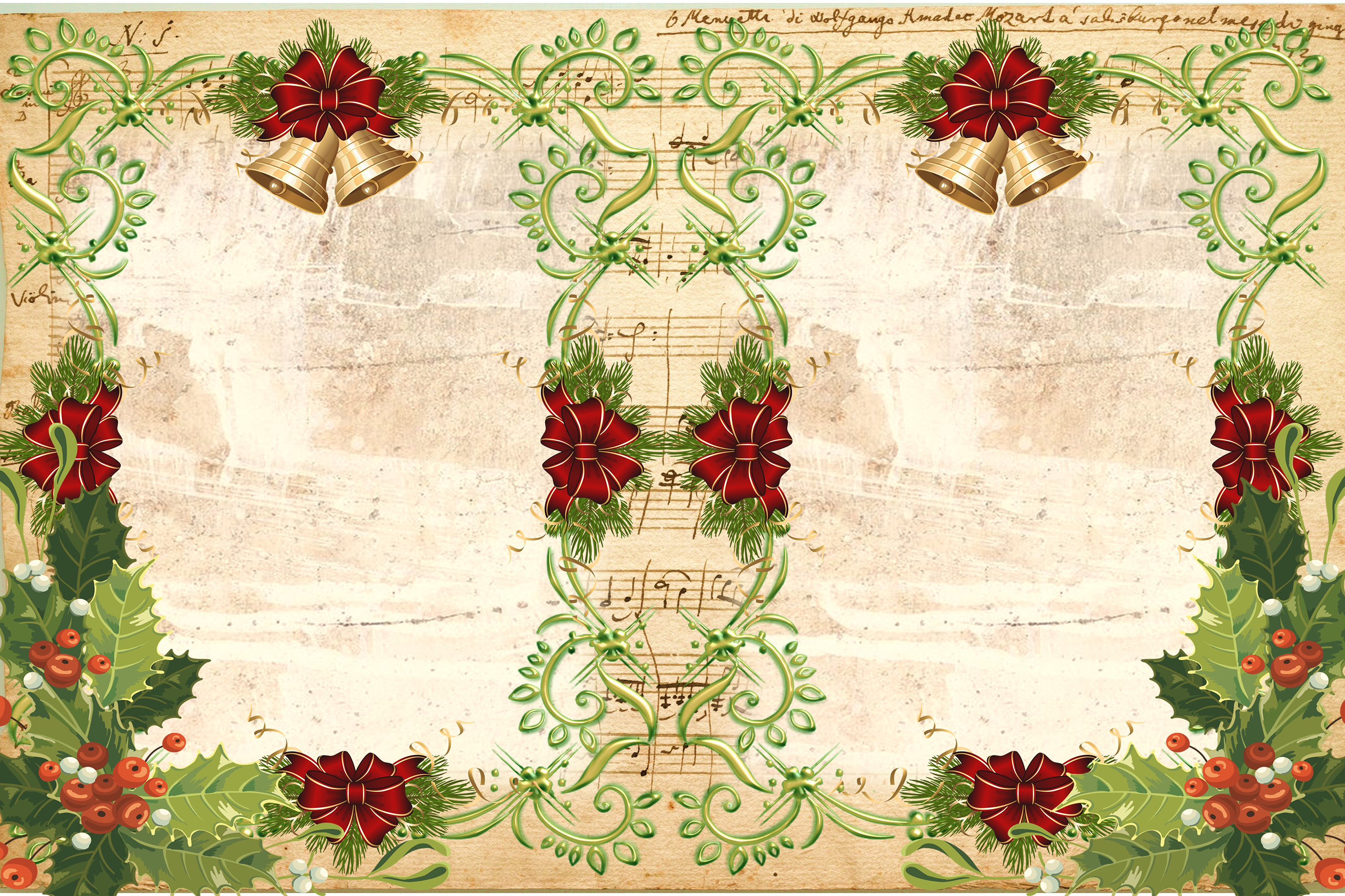 Country Christmas Backgrounds with FREE Ephemera and Clipart example image 3