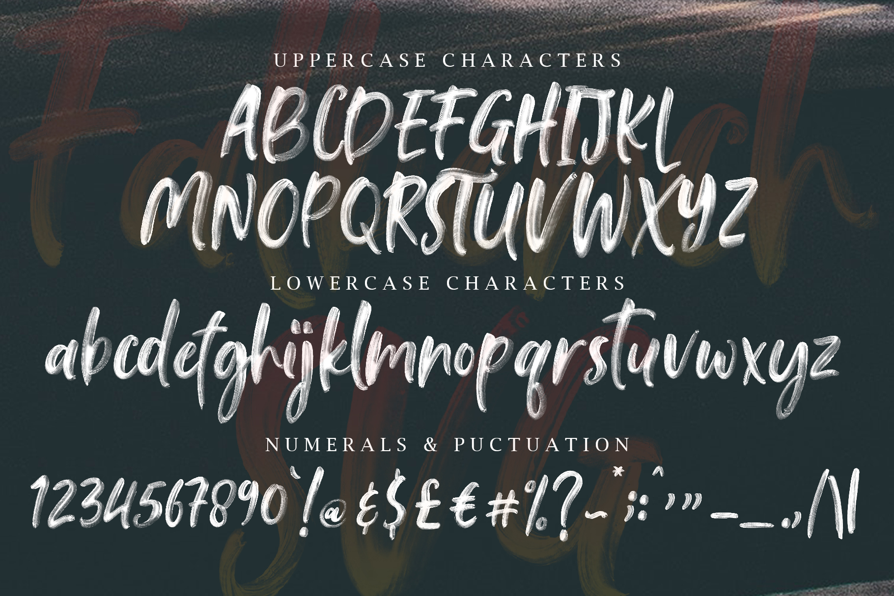 Falbench SVG & Brush Font example image 15