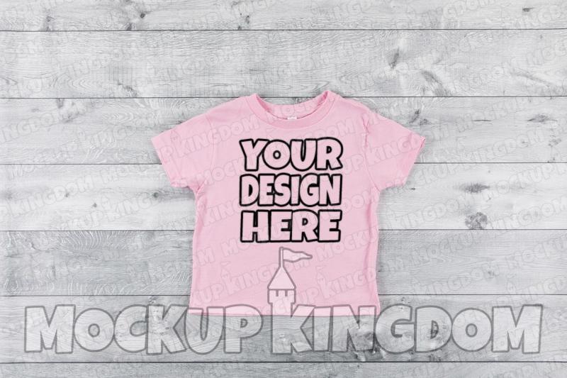 Kids Shirt Mockup, Toddler Shirt Mockup, Youth Shirt Mockup example image 1