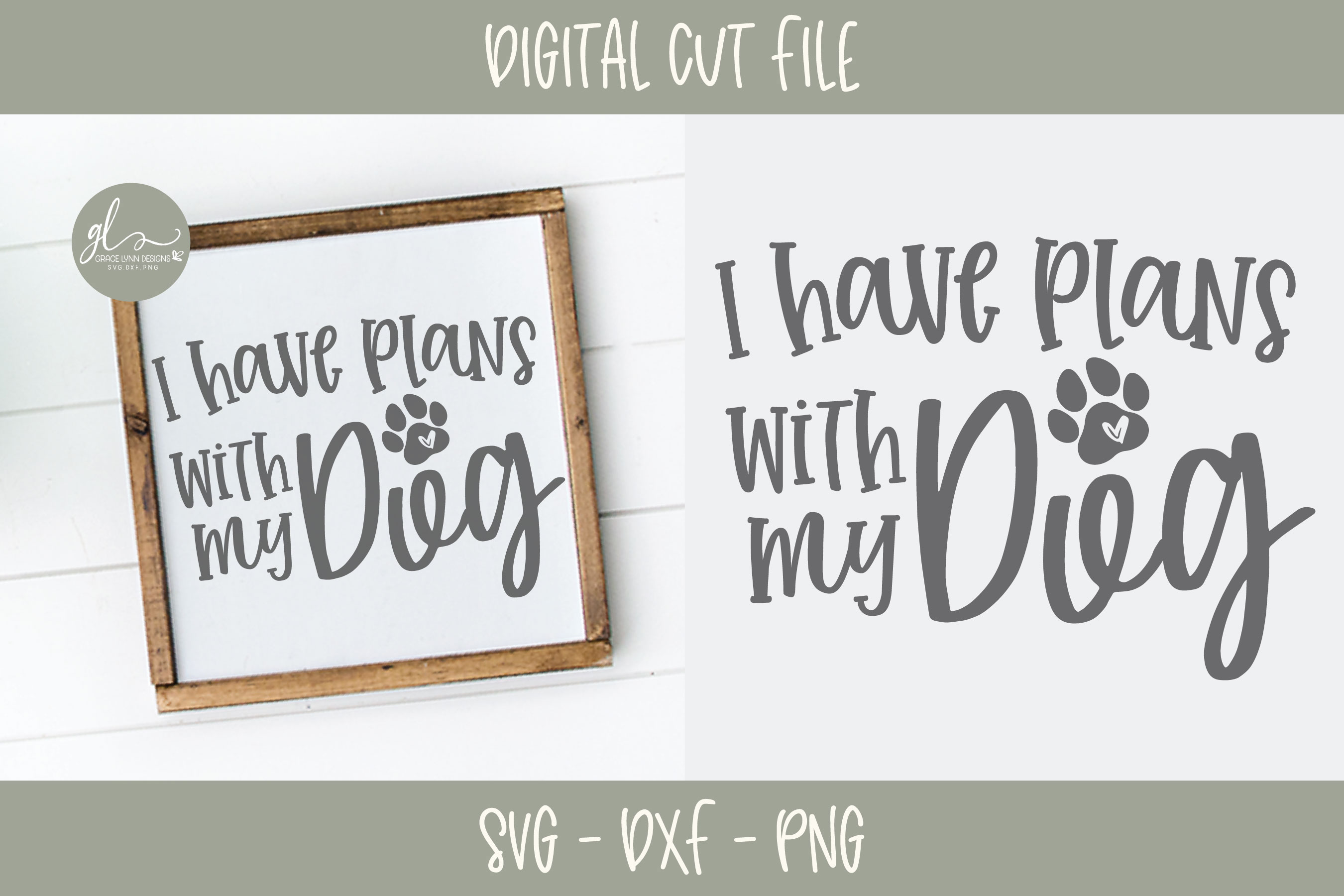 Dog Quotes Bundle Vol. 2 - 10 Designs - SVG Cut Files example image 9
