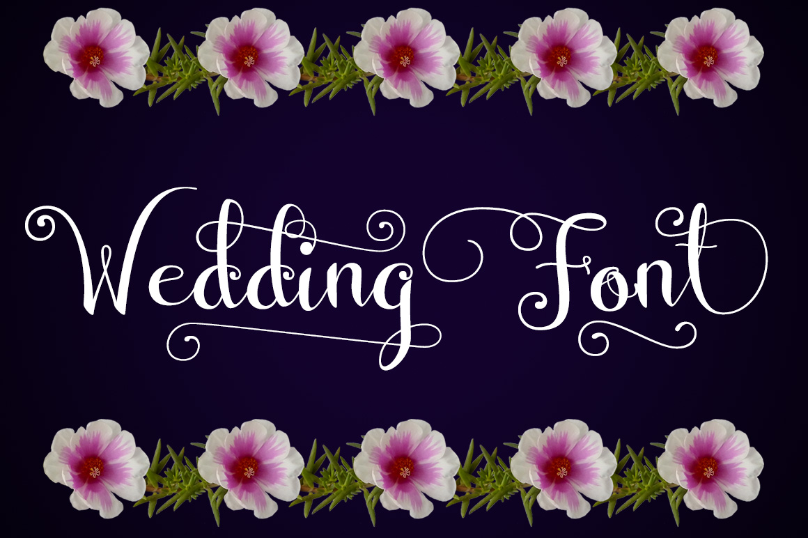 Wedding Font example image 1
