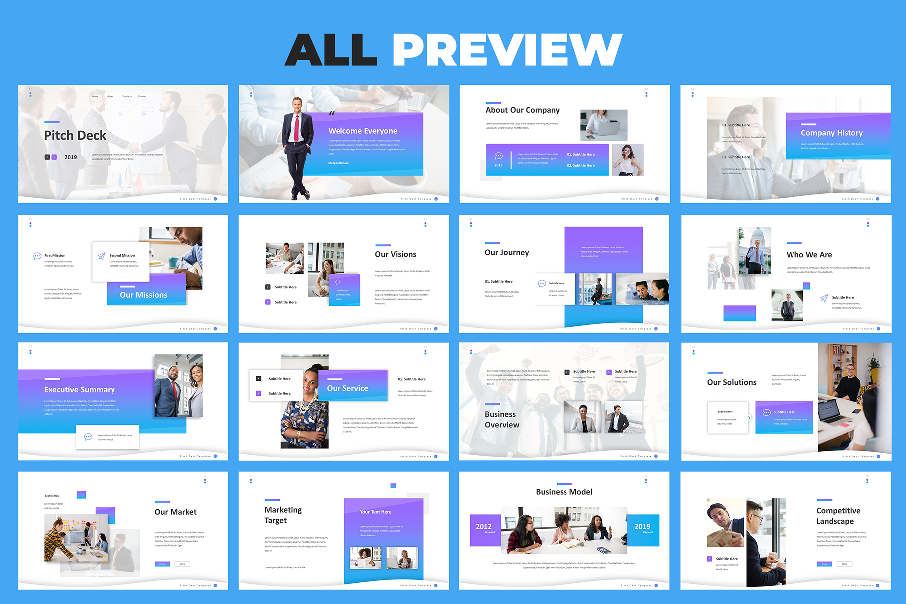 Pitch Deck Google Slides Template example image 5