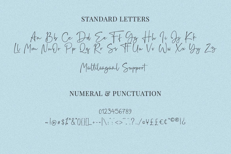 Rushtick Signature Font example image 9