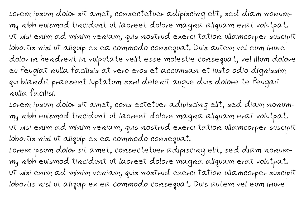 Apirak Handwriting Typeface example image 7