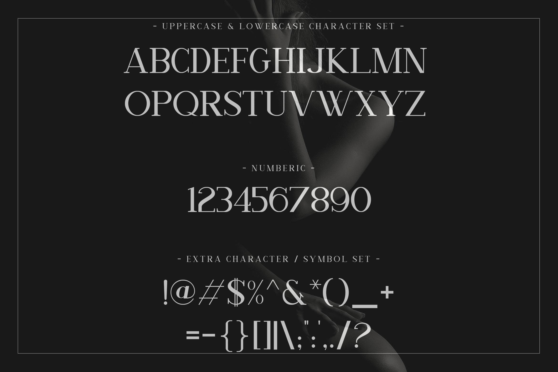 Nathanos - Serif Typeface example image 2
