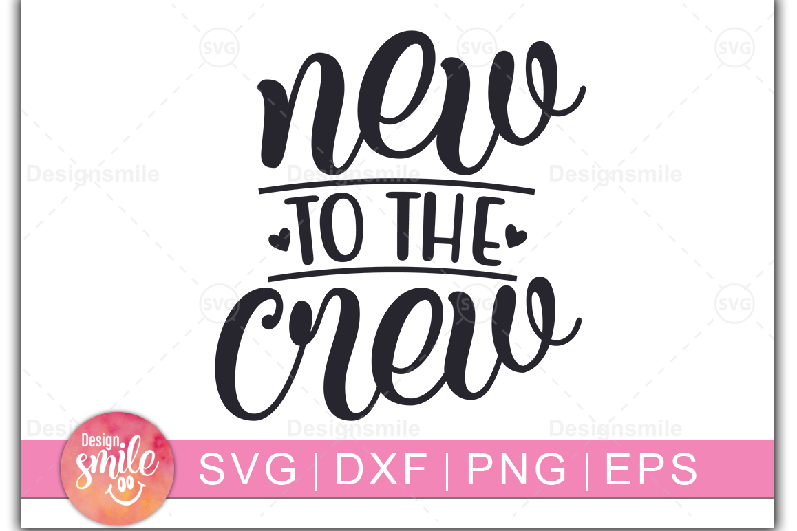 New To The Crew SVG | Christmas svg example image 1