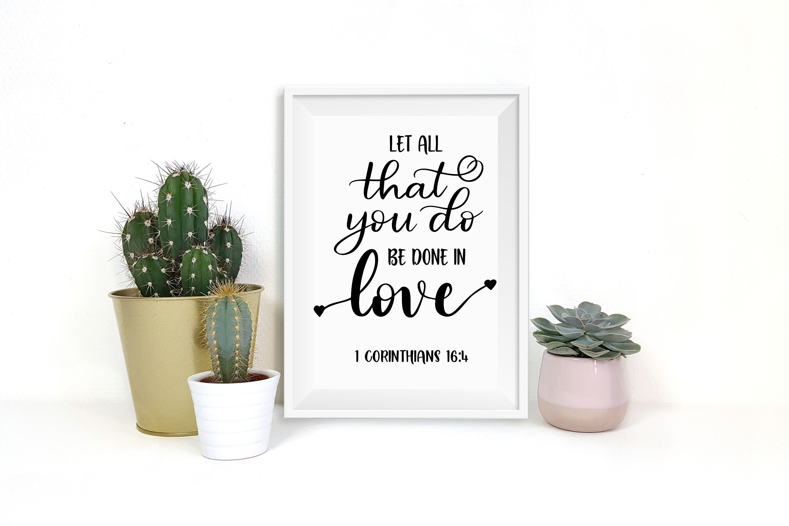 Let all that you do be done in love SVG example image 3