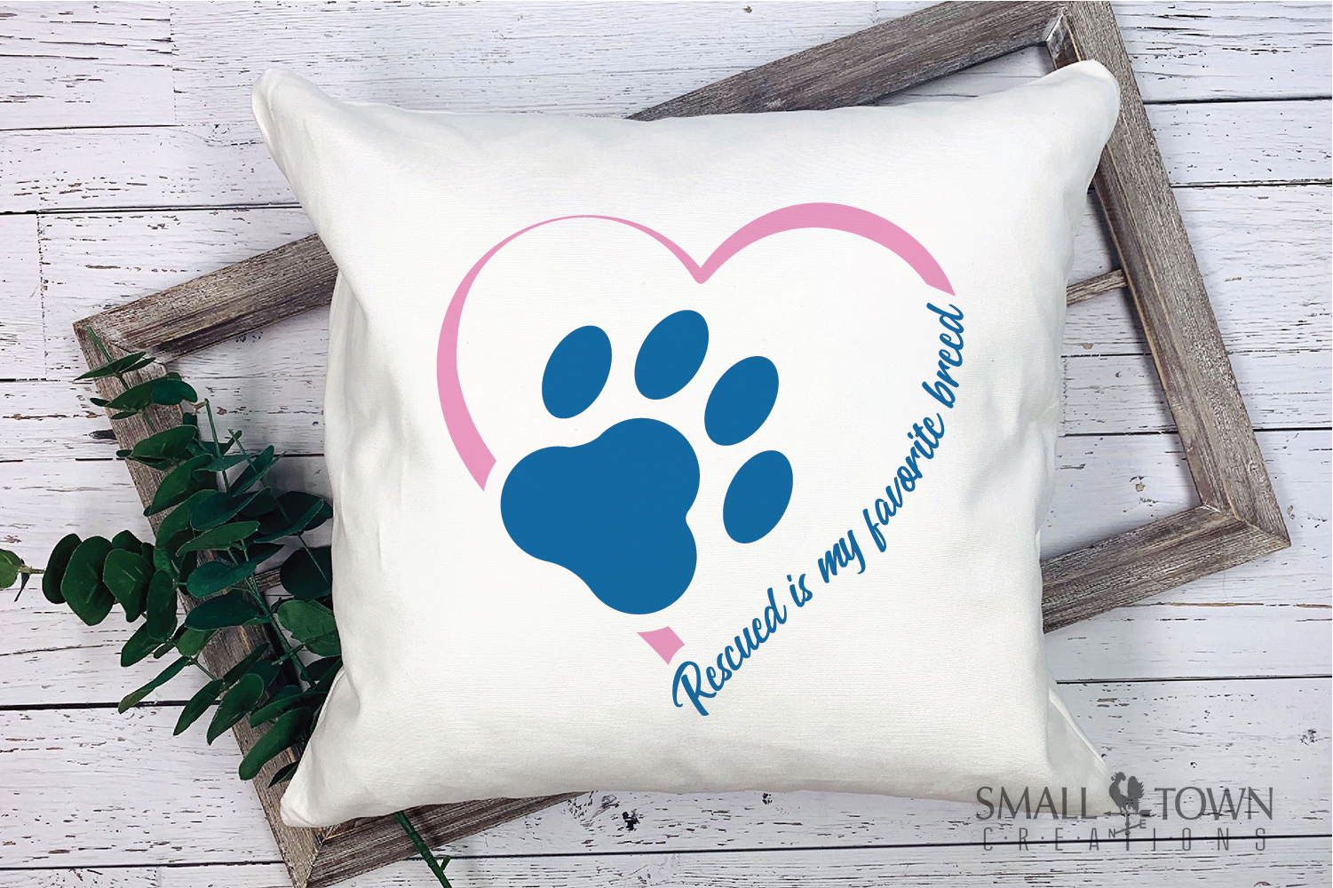 Rescued Dog, Adopted Dog, Dog breed, PRINT, CUT & DESIGN example image 3