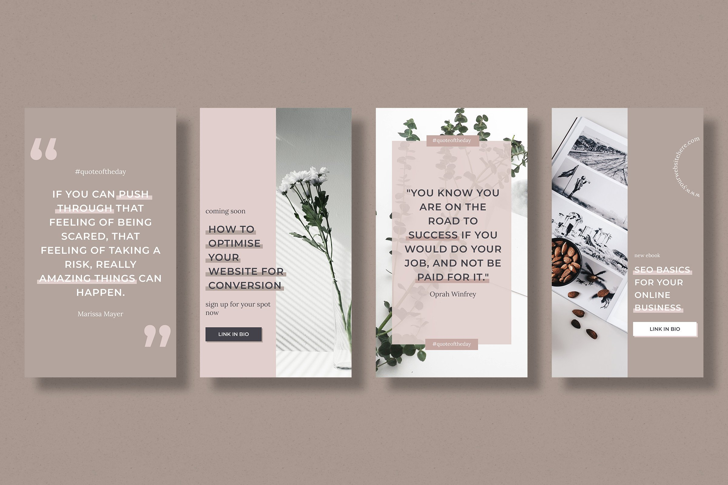 Instagram stories template pack for bloggers example image 4