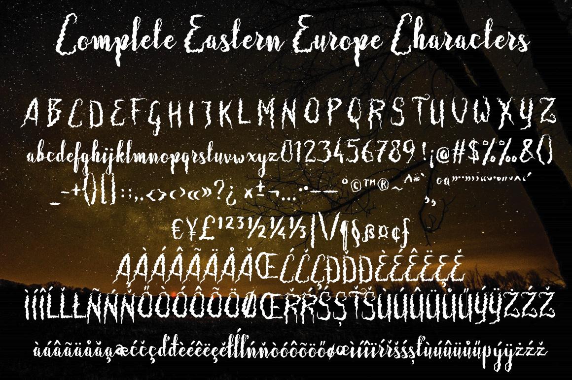 Frizzy Bella Script example image 6