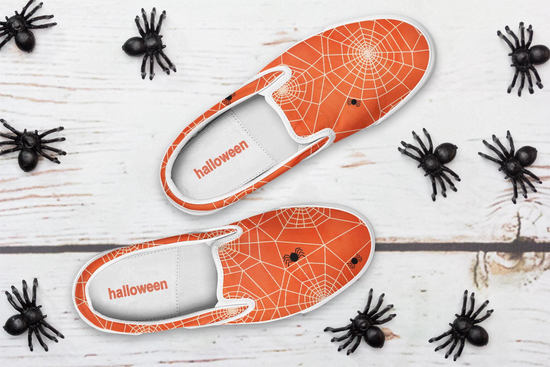 6 Huge Seamless Watercolour Halloween Textures example image 8