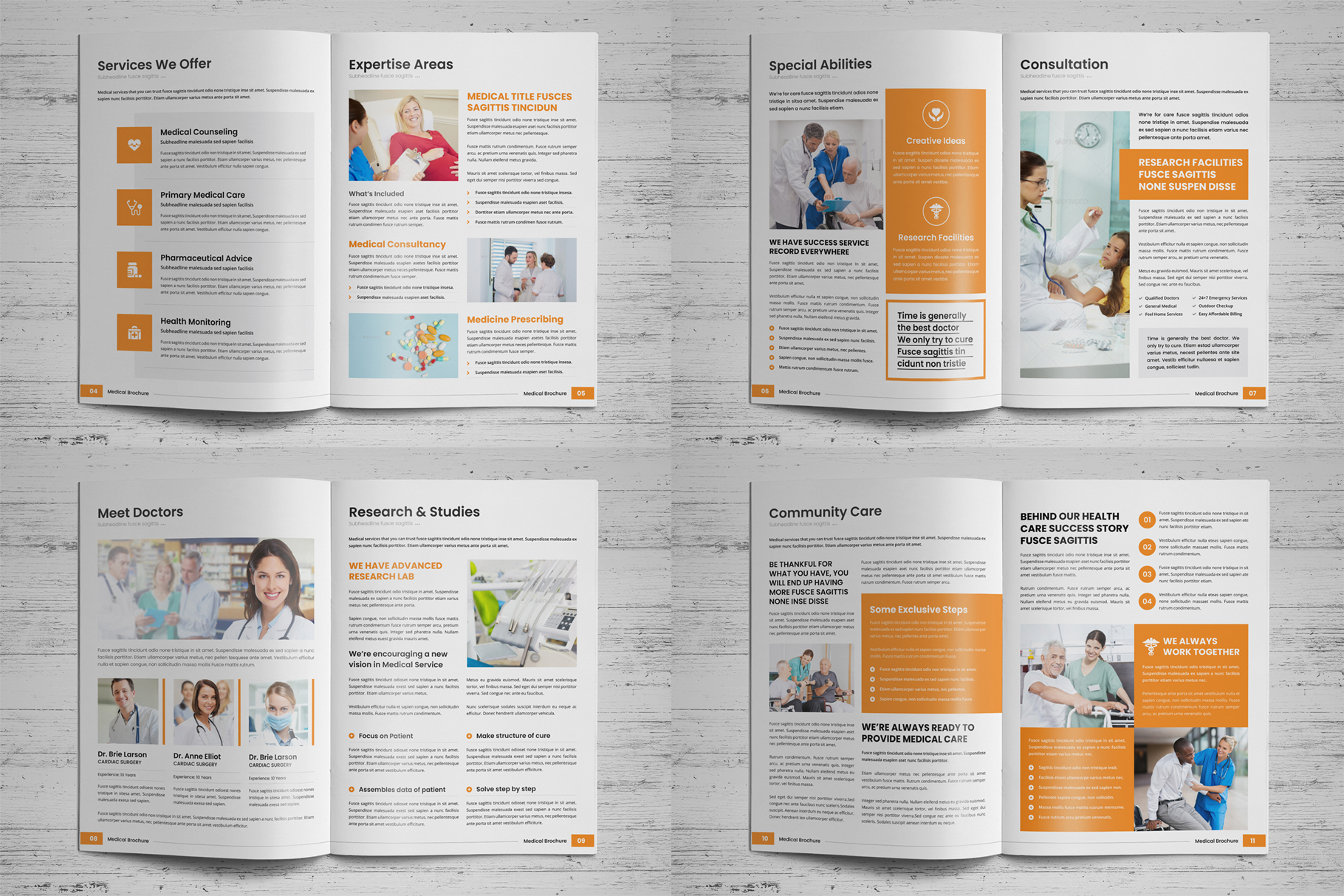 Medical HealthCare Brochure v6 example image 14