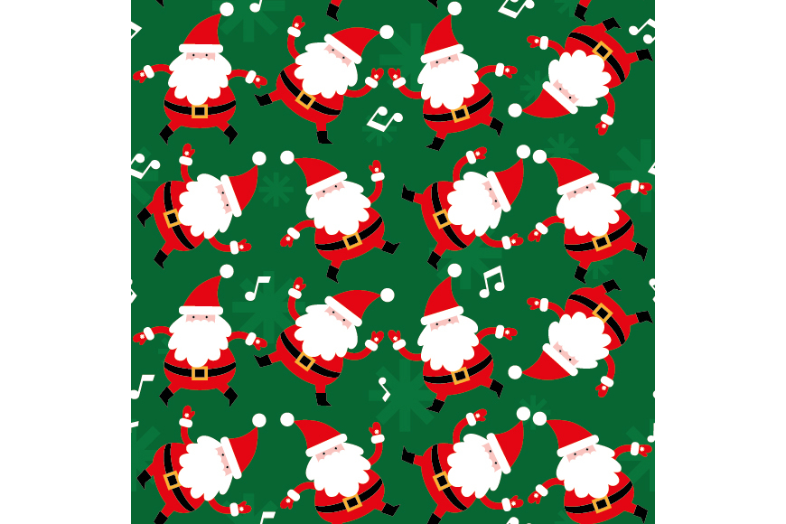 Christmas Patterns Collection. 12 of the jpeg files in resolution 4167*4167 px and 12 files eps8. example image 8